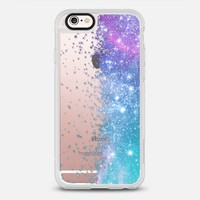 Lilac Teal Galaxy Stars Burst iPhone 6s case by Organic Saturation | Casetify
