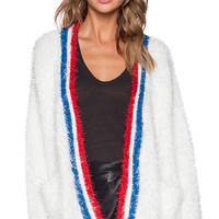 UNIF Commence Cardigan in White