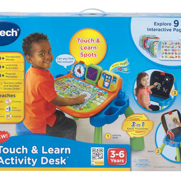 Touch and Learn Activity Desk with Music