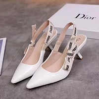 Dior Trending Women Stylish Pumps High Heel Sandals Shoes(4-style) Smooth Surface