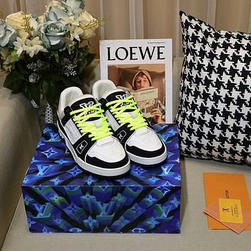 lv louis vuitton womans mens 2020 new fashion casual shoes sneaker sport running shoes 207
