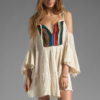 Jen's Pirate Booty T&B El Matador Dress in Colorful Stripe/Natural from REVOLVEclothing.com