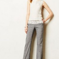 Laced Brighton Trousers by Elevenses Navy