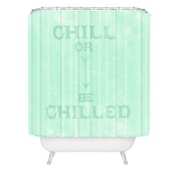 Nick Nelson Chill Or Be Chilled Shower Curtain