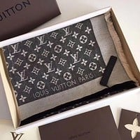 LV Classic Silverless Square Towel