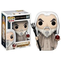 Lord of the Rings Saruman POP Vinyl Figure, Fantasy Movies by Funko