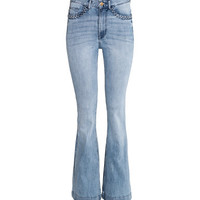 H&M Flare High Waist Jeans $34.99