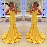 Sleeveless Tiered Floor Length Evening Gown