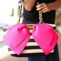 Bow-Nanza Handbag by Betsey Johnson