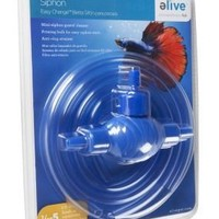 Elive Betta Aquarium Siphon Anti-Clog