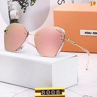 Miu Miu New Polarized Women Sunscreen Glasses Eyeglasses