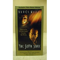 Hollywood Pictures The Sixth Sense VHS Movie  * Plastic * -- Used