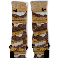 Smores Customized Nike Elite Socks Fast Shipping!