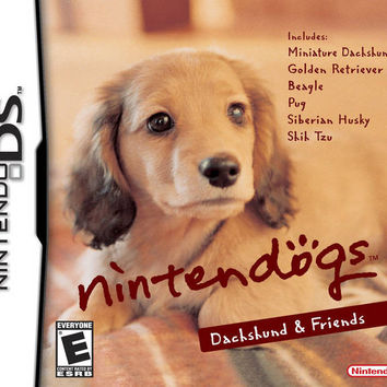 Nintendogs Dachshund and Friends - Nintendo DS (Game Only)