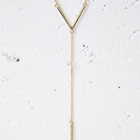 Matchstick Layered Necklace
