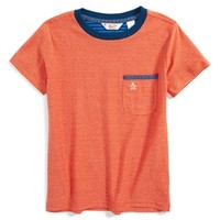 Toddler Boy's Original Penguin 'Taping' Graphic T-Shirt,