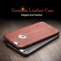 Case for iPhone 6 & 6s fashion genuine leather phone case for iPhone 6s plus luxury calf skin