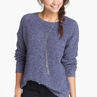 Rubbish® Oversize Knit Pullover (Juniors) | Nordstrom