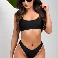 Playa Paraiso Two Piece Swimsuit - Black