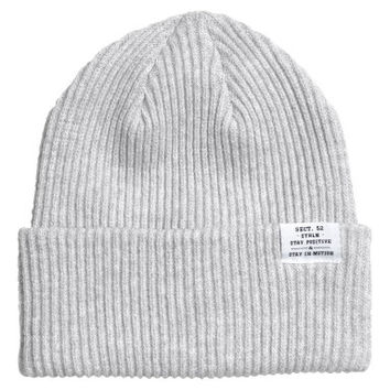 H&M Rib-knit Hat $9.99
