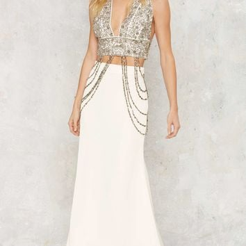 Nasty Gal Rise to the Occasion Maxi Skirt