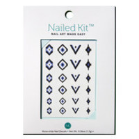 A Lazy Girl's Guide to Getting Ikat Nails