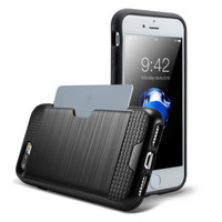 Protective Credit Card Wallet Case for iPhone 6 and 7