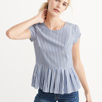 Womens Peplum Top | Womens Tops | Abercrombie.com