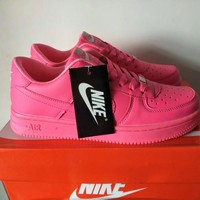 Nike Air Force 1 Women Sport Casual Candy Colors Low Help Shoes Sneakers Plate Shoes