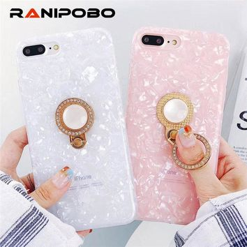 Ring Stand Shining Holder Phone Case