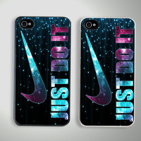 New Just Do It Sparkle Custom iPhone 4/4S Case Cover