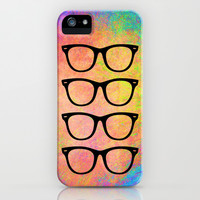 Rainbow Sunnies iPhone & iPod Case by M Studio
