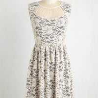 Mid-length Sleeveless A-line To Put it Twinkly Dress