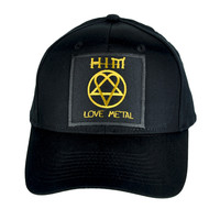 HIM Hat Love Metal Music Heartagram Baseball Cap Ville Valo