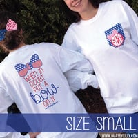 Monogrammed Long Sleeve Bow T-Shirts | Clothing | Marley Lilly