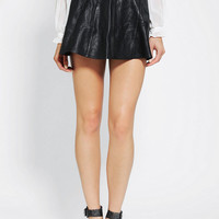 Urban Outfitters - Motel Vintage X Urban Renewal Leather Circle Skirt