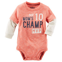 Mom's Champ Double Decker Bodysuit