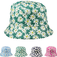 daisies women's bucket hat Case of 72