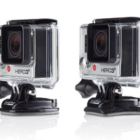 GoPro Curved + Flat Adhesive Mounts   Waterproof mounts for any surface