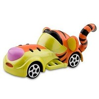 disney parks racers die cast metal tigger 1/64 race car new with box