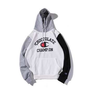 Hoodies Patchwork Pullover Hats [11132261127]