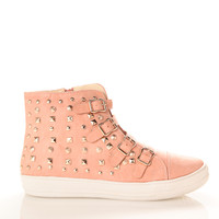 Studded 4 Velcro Sneakers