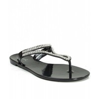 Women's Fashion Jelly Sandals BLACK