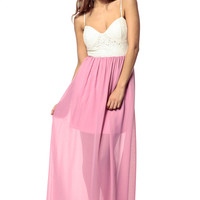 Back Bow Maxi Dress