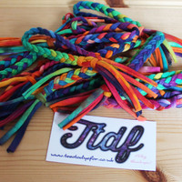 Bracelets (Hallows Eve - Ready for Dispatch) #tiedye #bracelets #accessories #jewellery #jewelry #boho