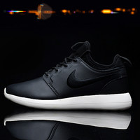 """NIKE"" Winter Trending Fashion Knitting Logo Casual Sports Shoes Black/White"