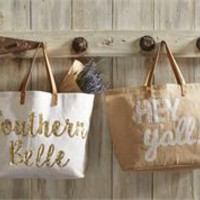 Southern Dazzle Totes by Mud Pie