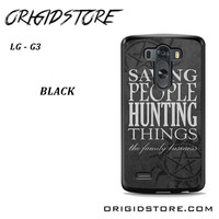 Supernatural Quote For LG G3 Case YG