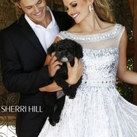 Sherri Hill 8518 Sparkly Party Dress