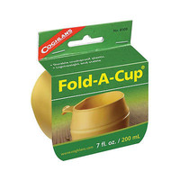 Coghlan's 8309, Folding Cup Collapsible Cups Camping Hiking Fishing Backpacking